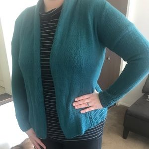 Teal Sweater cardigan